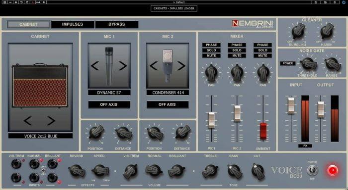 Nembrini Audio DC30 cabinet