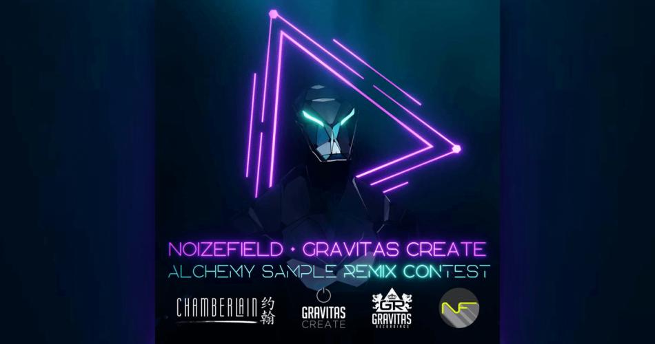 Noizefield Gravitas Create Alchemy Sample Remix Contest