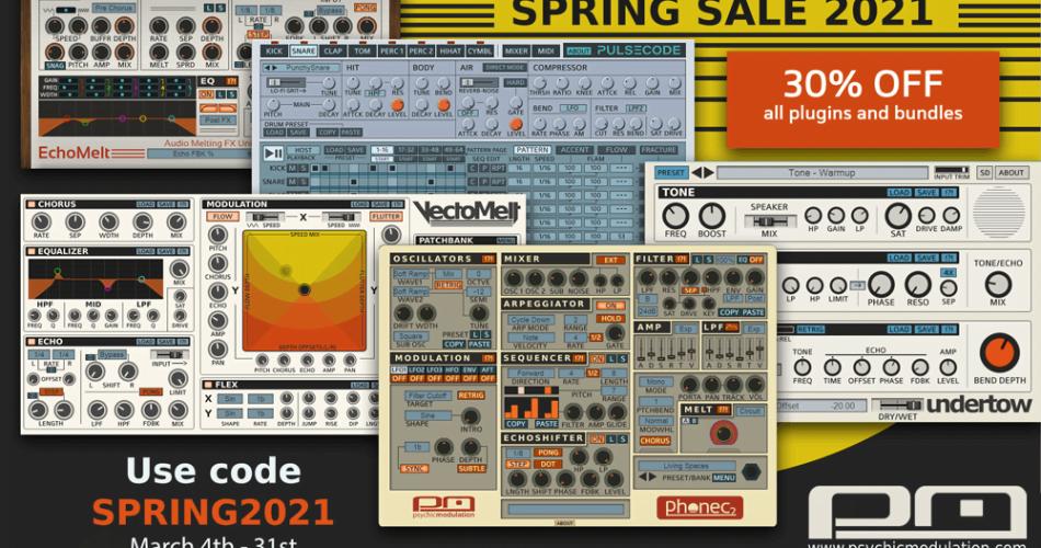Psychic Modulation Spring Sale 2021