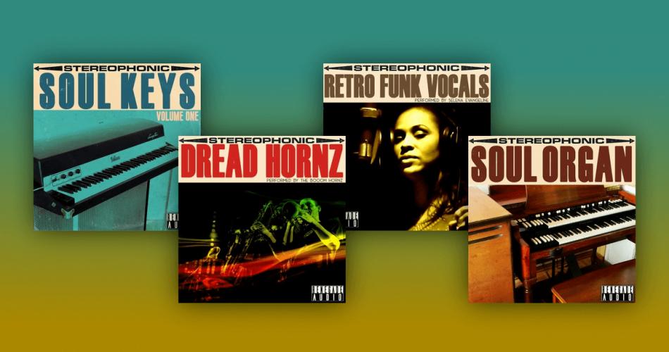 Renegade Audio Soul Keys Dread Hornz Retro Funk Vocals Soul Organ