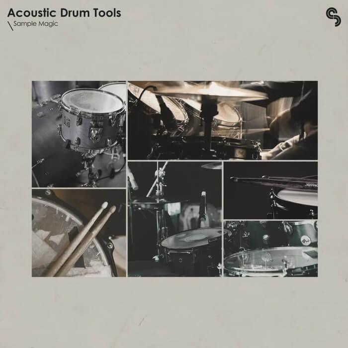 Sample Magic Dream Pop Acoustic Drum Tools