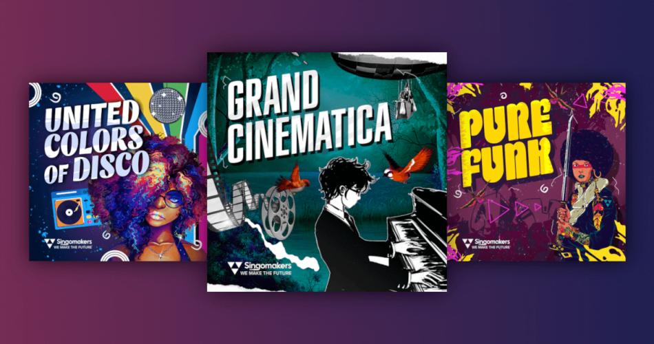 Singomakers Grand Cinematica United Colors of Disco Pure Funk