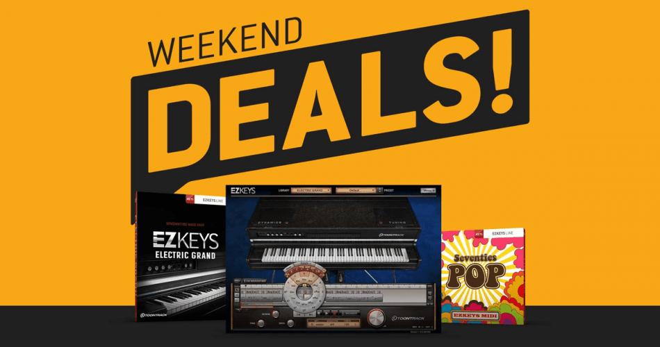 Toontrack Weekend Deals EZkeys Electric Grand Seventies Pop