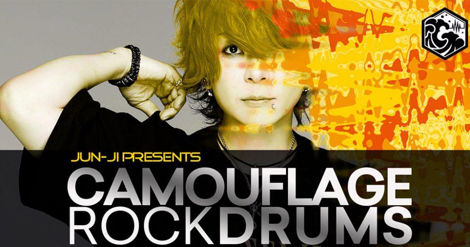Tsunami Jun ji Camouflage Rock Drums
