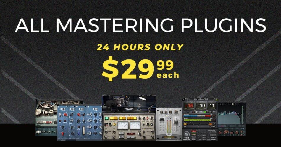 Waves Audio Mastering Sale