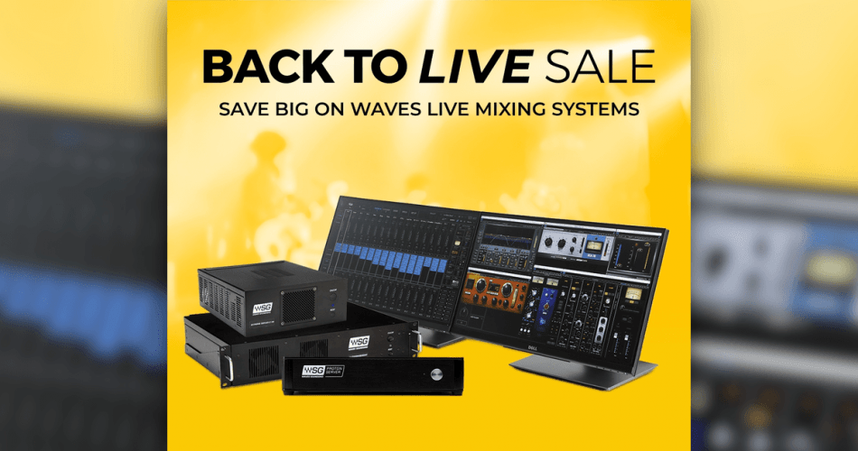 Waves Back To Live Sale