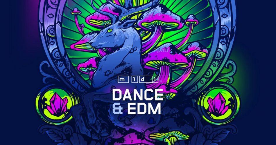 m1d1 Dance and EDM MIDI pack