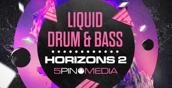 5Pin Media Liquid Drum and Bass Horizons 2