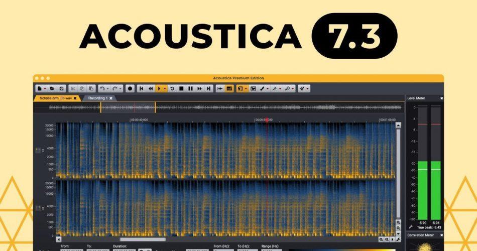 Acoustica 7.3