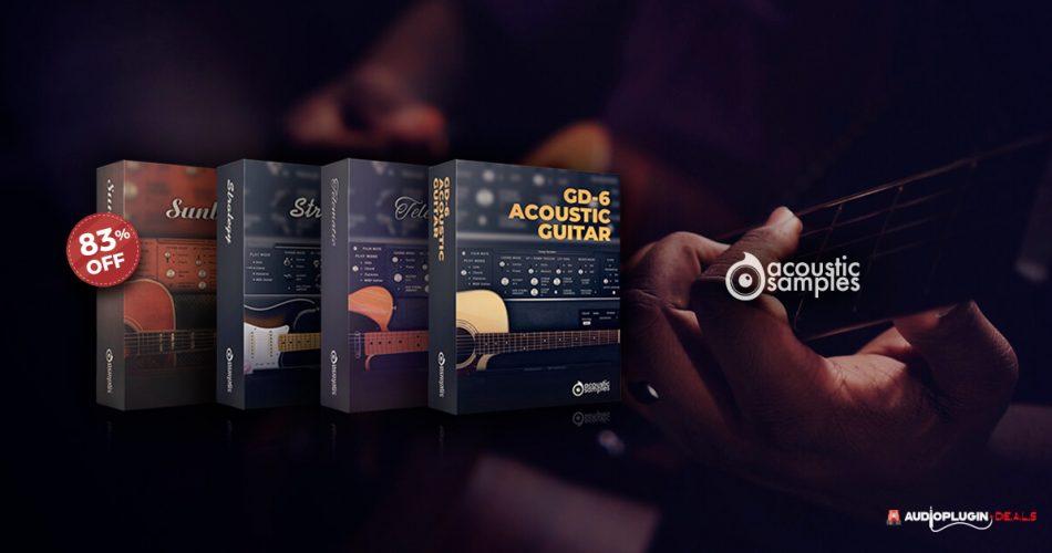 Acousticsamples 4 in 1 guitar bundle