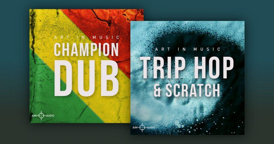 Aim Audio Champion Dub and Trip Hop & Scratch