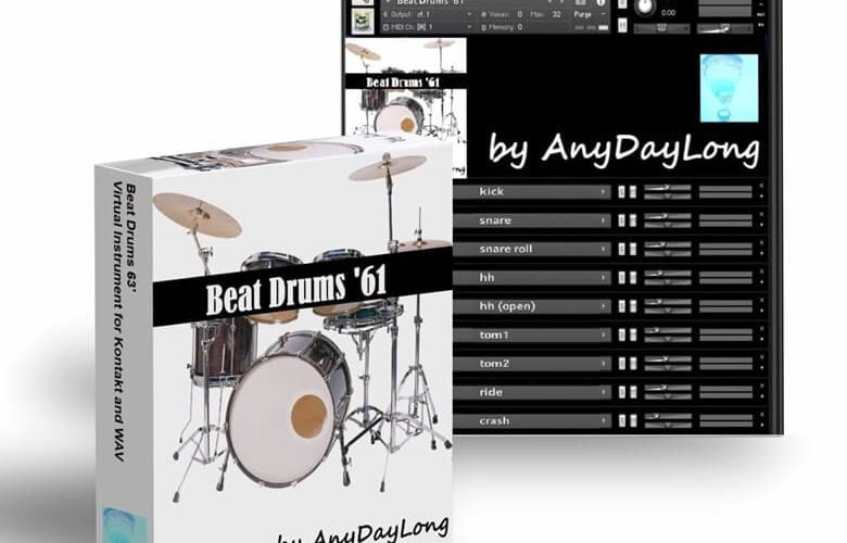 AnyDayLong Beat Drums 61