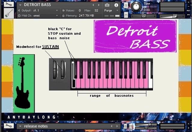 AnyDayLong Detroit Bass GUI