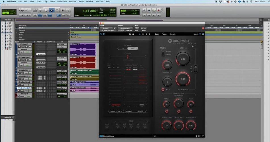 Brainworx bx limiter True Peak in Pro Tools