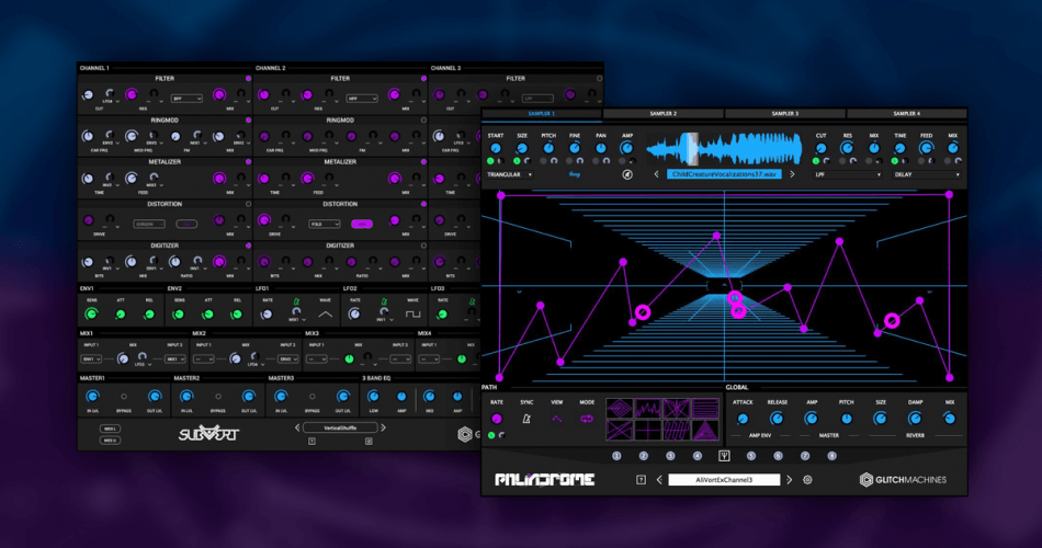 Glitchmachines Palindrome and Subvert