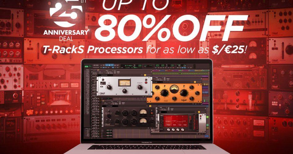 IK 25th Anniversary T RackS Processors Krazy Deal