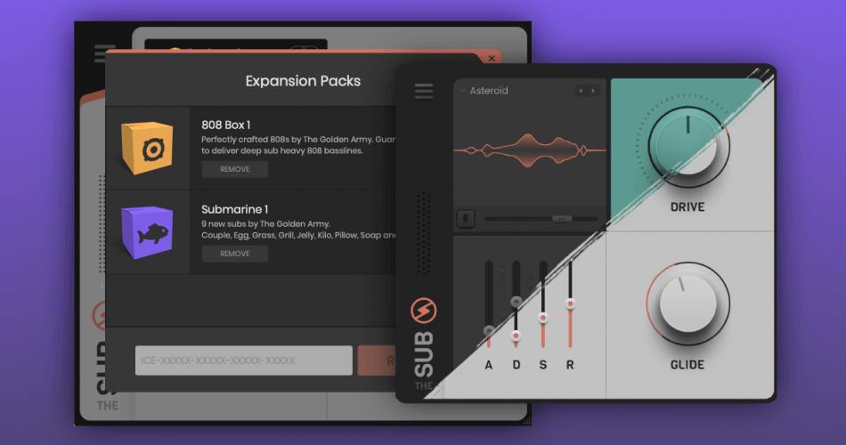 Iceberg Audio The Sub expansion packs