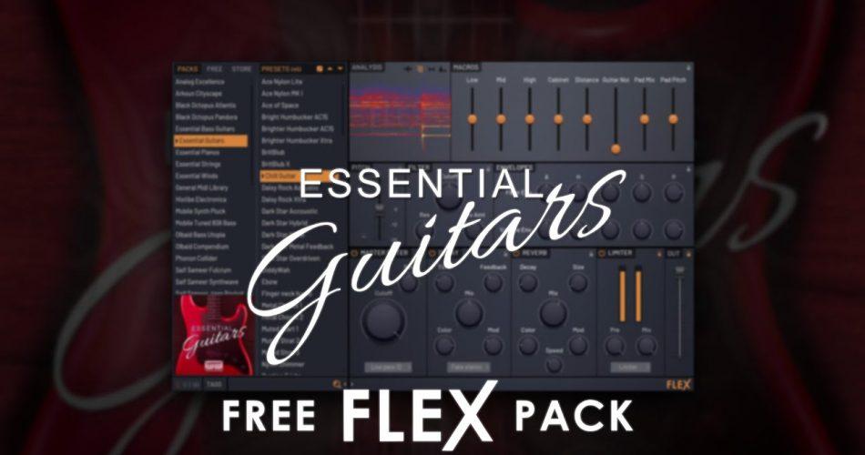 Image Line Essential Guitars and Bass Guitars for FLEX