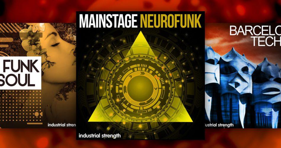 Industrial Strength Mainstage Neurofunk Barcelona Techno Nu Funk N Soul