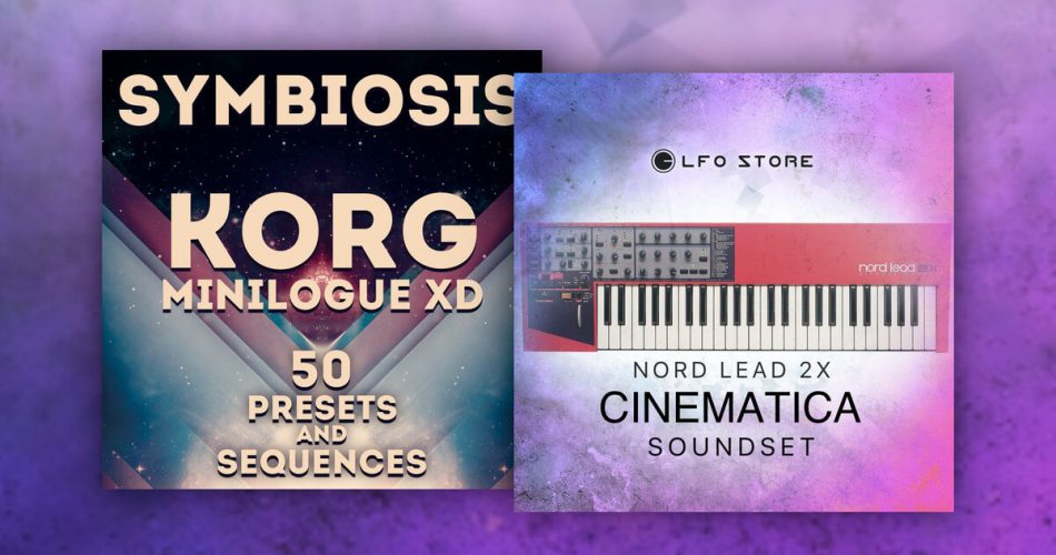 LFO Store Symbiosis Minilogue XD and Cinematica Nord Lead 2X