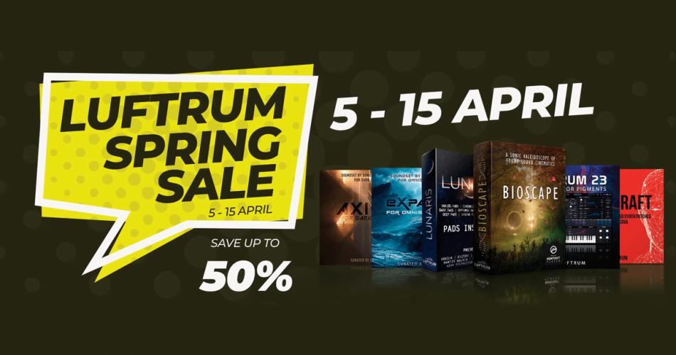 Luftrum Spring Sale 50 OFF