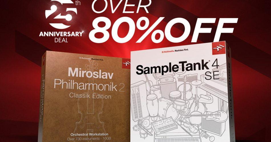 Miroslav Philharmonik 2 CE and SampleTank 4 SE Sale