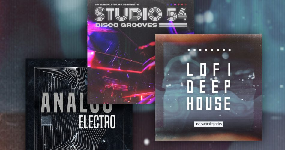 RV Samplepacks Lofi Deep House Analog Electro Studio 54 Disco Grooves