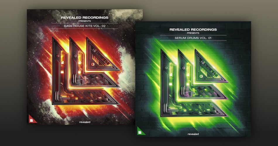 Revealed Bass House Kits 2 and Serum Drums