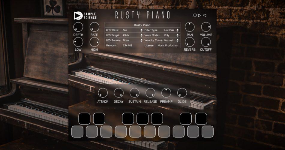 SampleScience Rusty Piano