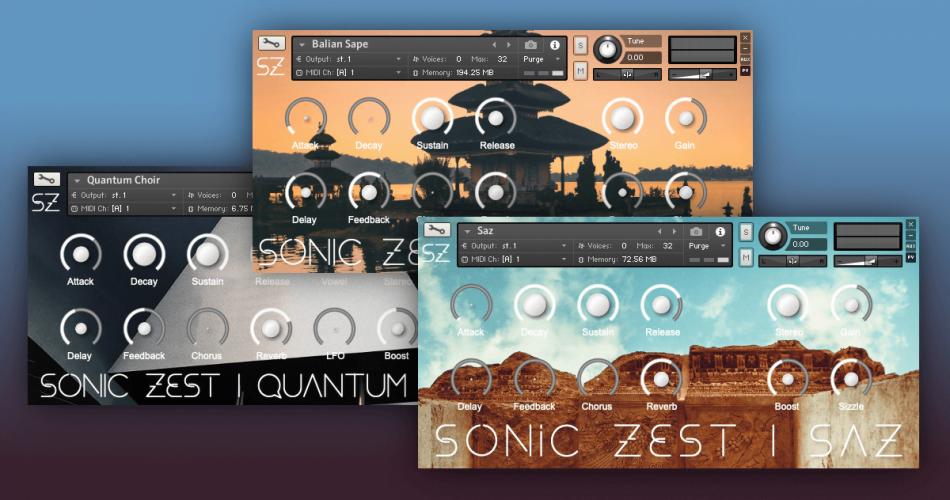 Sonic Zest Balian Sape Persian Saz and Quantum Choir