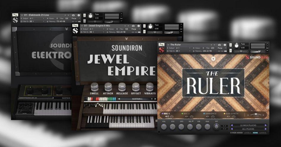 Soundiron Elektronika 25 Jewel Empire 2 and The Ruler
