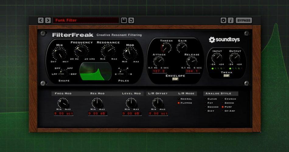 Soundtoys FilterFreak