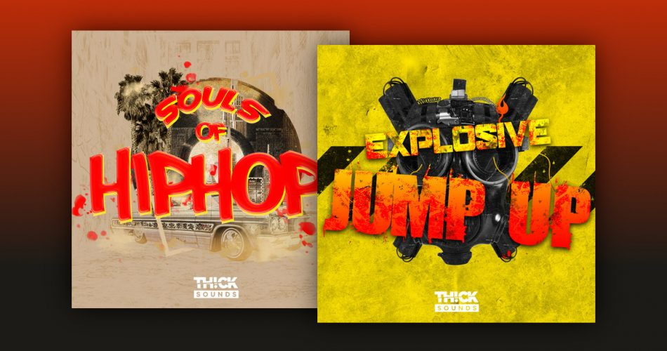 Thick Sounds Souls of Hip Hop Explosive Jump Up