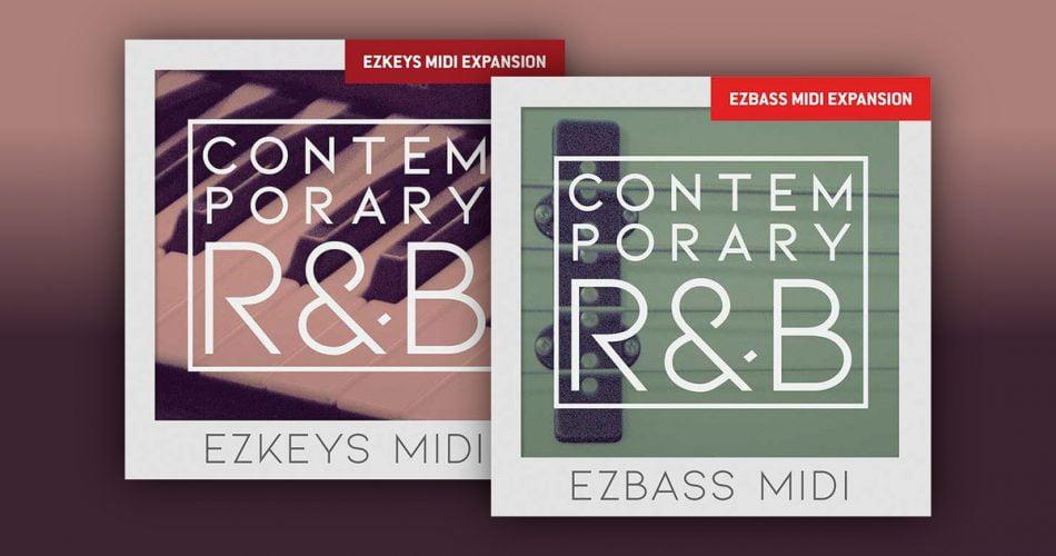 Toontrack Contemporary RnB EZbass and EZkeys