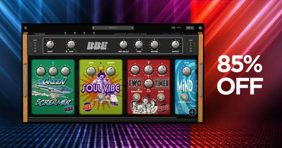 VST Buzz BBE Sound Stomp Board
