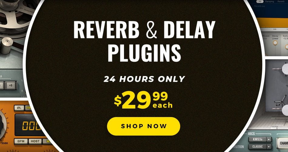 Waves Reverbs and Delays Sale