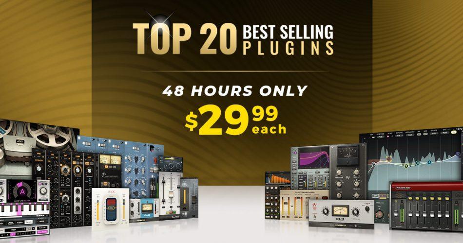 Waves Top 20 Best Selling Plugins