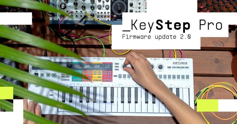 Arturia KeyStep Pro firmware 2