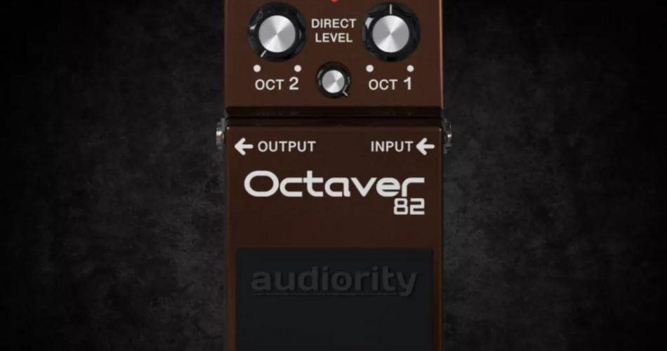 Audiority Octaver 82 GUI