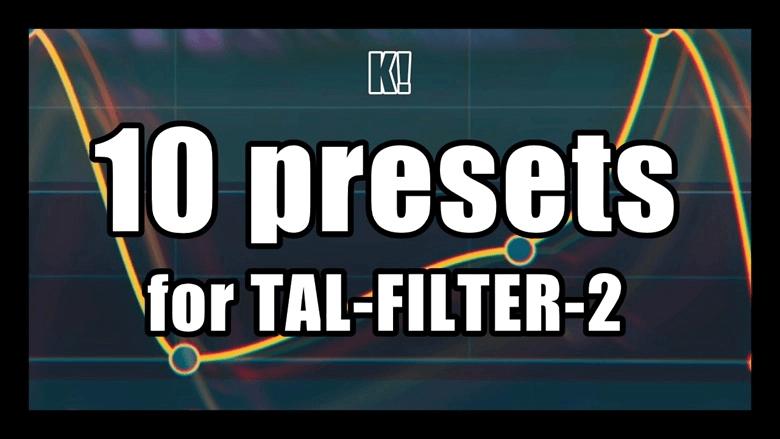 Boing Poum Tchak TAL Filter 2 presets