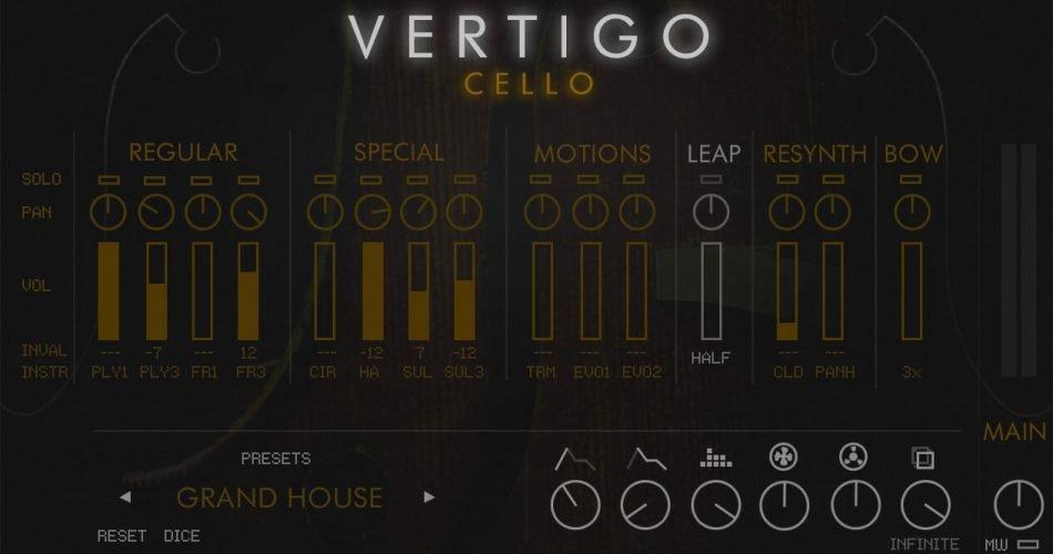 Cinematique Instruments Vertigo Cello