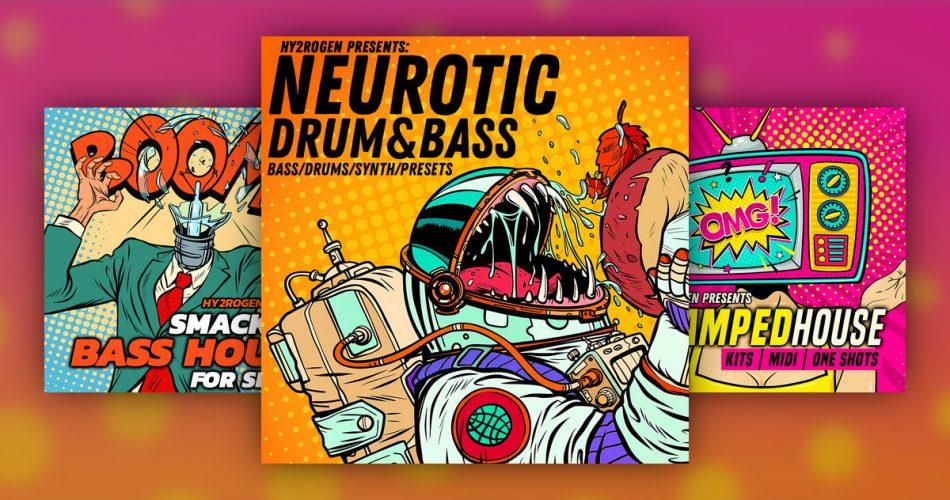 Hy2rogen Neurotic Drum Bass Boom Smack Bass House Serum Stamped House