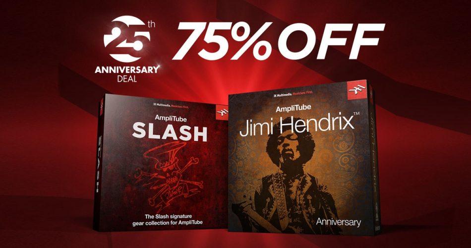 IK AmpliTube Slash Jimi Hendrix Sale