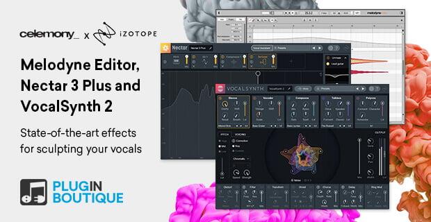 PIB Melodyne Editor Nectar 3 Plus VocalSynth 2
