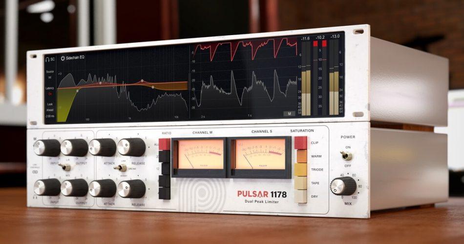 Pulsar Audio 1178 dual peak limiter