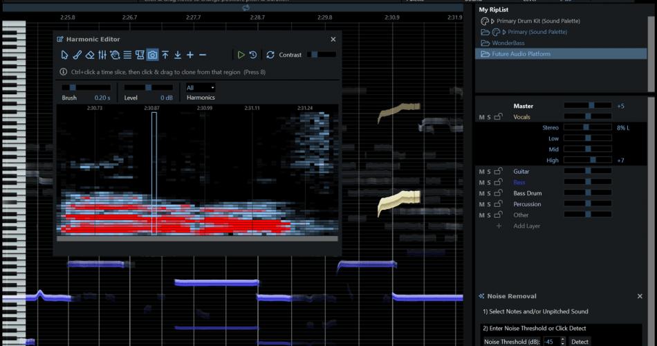 RipX DeepAudio screenshot