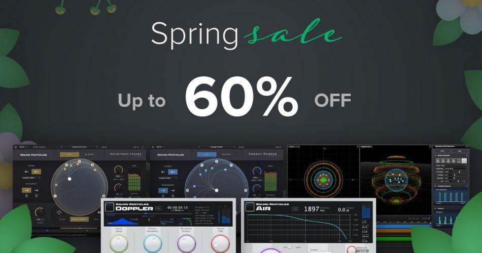 Sound Particles Spring Sale