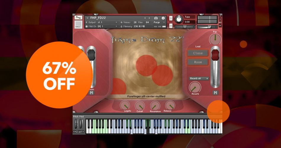 VST Buzz FlyingHand Percussion