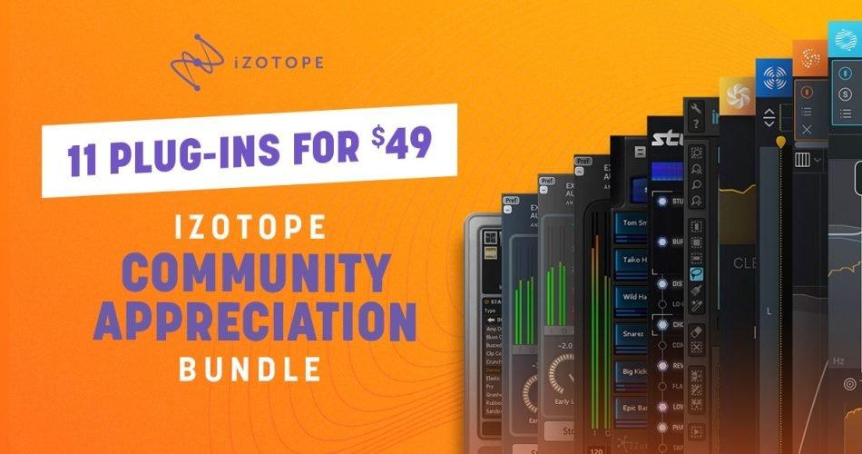 iZotope Community Appreciation Bundle Deal