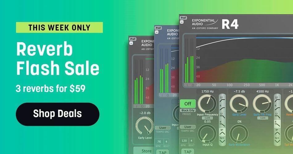 iZotope Reverb Flash Sale